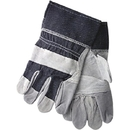 MCR Safety Industry Standard Leather Palm Gloves, Economy Grade