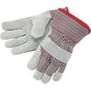 MCR Safety Industry Standard Leather Palm Gloves, Industrial Grade