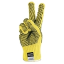 MCR Safety Kevlar Gloves, PVC Dual-Sided Dotted