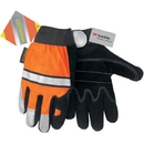 MCR Safety Luminator Double Palm Gloves