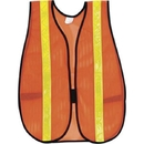 River City General Purpose Safety Vest, Polyester Mesh, 1 3/8