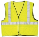 MCR Safety LuminatorClass 2 Economy Solid Mesh Vests