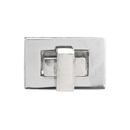 TOPTIE 10 Sets Purse Clutches Closures 27 x 17mm, Rectangle Twist Turn Lock for Handbag Making