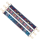 TOPTIE 3 PCS Floral Shoulder Strap 19 Inch Long Replacement Purse Handle Straps Assorted
