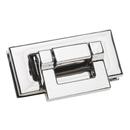 TOPTIE 10 Sets Metal Turn Clasp Closure Rectangle Handbag Hardware Purse Twist Turn Lock Fastener