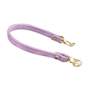 TopTie Skinny Handbag Strap, Cute PU Replacement Strap with Swivel Hooks