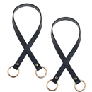 TOPTIE 2PCS Leather Purses Straps with Spring O Ring, Replacement Handbag Straps 26 Inch