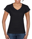 Gildan 64V00L Softstyle Ladies' V-Neck Tee