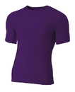 A4 N3130 Adult Short Sleeve Compression Tee
