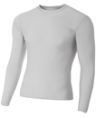 A4 N3133 Adult Long Sleeve Compression Tee