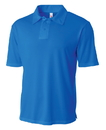 A4 N3261 Solid Interlock Polo