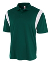 A4 N3266 Adult Color Block Sport Shirt