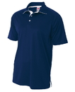 A4 N3293 Adult Contrast Sport Shirt