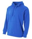 A4 N4237 Adult Solid Tech Fleece Hood