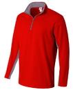 A4 N4246 Adult Color Block 1/4 Zip Fleece