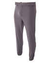 A4 N6178 Adult Pro Style Elastic Bottom Baseball Pant