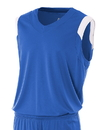 A4 NB2340 Youth V-Neck Sleeves Jersey