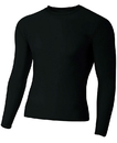 A4 NB3133 Youth Long Sleeve Compression Crew
