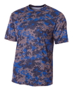 A4 NB3256 Youth Camo Performance Tee