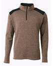 A4 NB4094 Youth Tourney Color Block 1/4 Zip