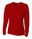 A4 NW3255 Ladies' Birdseye Mesh Long Sleeve Tee