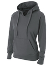 A4 NW4245 Ladies' Solid Tech Fleece Hood
