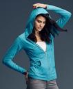 Anvil 6759L Women's Tri-Blend Full Zip Hooded Jacket