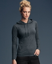 Anvil 887L Women's Lightweight Long Sleeve Hooded Tee