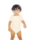 American Apparel 4001ORGW Infant Organic Baby Rib One Piece