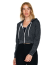 American Apparel F397W Women's Flex Fleece Cropped Zip Hood