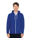 American Apparel F497W Unisex Flex Fleece Zip Hooded Sweatshirt