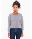 American Apparel AAHVT316W Women's Athletic Crop Sweatshirt