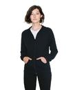 American Apparel RSA2402W Unisex Fine Jersey Zip Hood