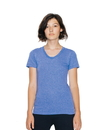 American Apparel TR301W Women's Tri-Blend Crew Neck Tee
