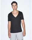 American Apparel AATR456W Tri-Blend Deep V-Neck Tee