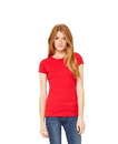 Bella+Canvas 1001 Women's Baby Rib Tee