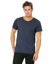 Bella+Canvas 3014 Men's Jersey Raw Neck Tee