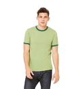 Bella+Canvas 3055 Men's Jersey Ringer Tee