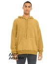 Bella+Canvas B3329 Unisex Sueded Pullover Hood