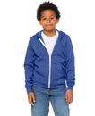 Bella+Canvas B3739Y Youth Fleece Full Zip Hoodie