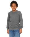 Bella+Canvas B3901Y Youth Sponge Fleece Raglan Sweatshirt