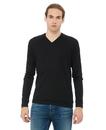 Bella+Canvas 3985 Unisex V-Neck Lightweight Sweater