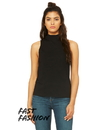 Bella+Canvas B6807 Women's Mock Neck Tank