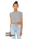 Bella+Canvas B8483 Women's Festival Cropped Tank