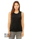 Bella+Canvas 8803 Women's Flowy Scoop Muscle Tank