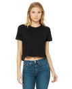 Bella + Canvas 8882 Women's Flowy Cropped Tee