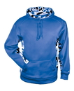 Badger Sport 1469 Adult Camo C/B Fleece Hood