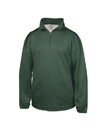 Badger Sport 1483 Adult Pro Heather Fleece 1/4 Zip