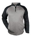 Badger Sport 1484 Adult Sport Heather 1/4 Zip