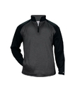 Badger Sport 1485 Adult Pro Heather Tonal 1/4 Zip Fleece